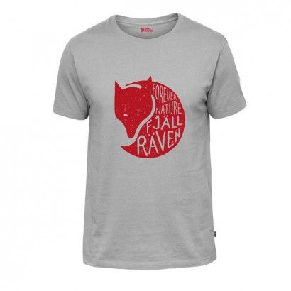 FOREVER NATURE T-SHIRT M  GREY