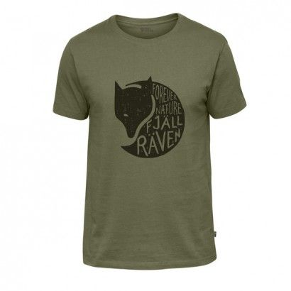FOREVER NATURE T-SHIRT M  GREEN