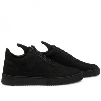 LOW TOP RIPPLE TONAL BLACK