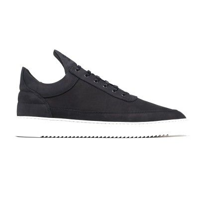 FILLING PIECES LOW TOP RIPPLE BASIC BLACK/WHITE