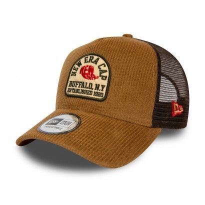 NE FABRIC PATCH TRUCKER STN