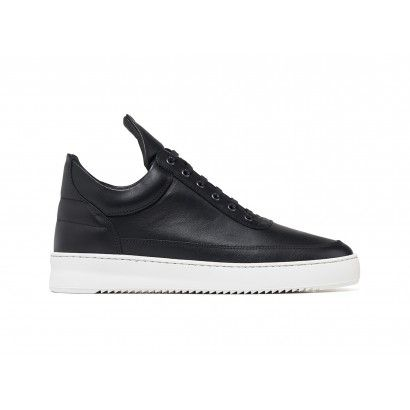 FILLING PIECES LOW TOP RIPPLE NAPPA BLACK